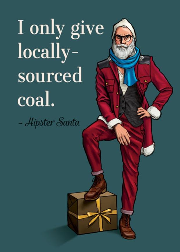 hipster-christmas-santa-poster